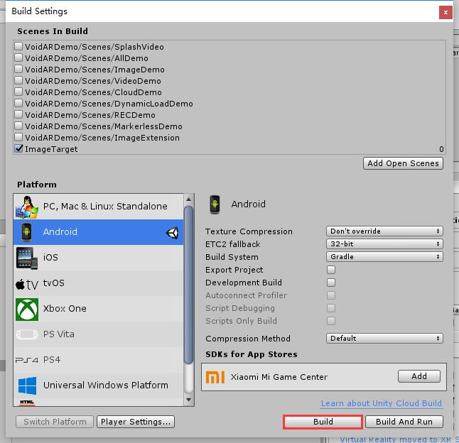 Image Target Recognition (Single Target) | VOID AR